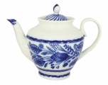 Lomonosov Imperial Porcelain Tea Pot Spring Oriental Way 27 oz/800 ml
