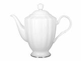 Lomonosov Porcelain Bone China Tea Pot Nega Golden Ribbon 50 fl.oz/1480 ml