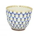 Imperial Lomonosov Porcelain Tulip Coffee Tea Pialat Piala Cobalt Net 4.7 oz/140 ml