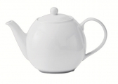 Lomonosov Porcelain Tea Pot Olympia White 16.9 fl.oz/500 ml
