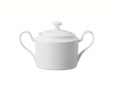 Lomonosov Porcelain Sugar Bowl Premium White 13.5 fl.oz/400 ml