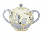Lomonosov Imperial Porcelain Sugar Bowl Moonlight 15 oz/450 ml