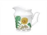 Lomonosov Imperial Porcelain Bone China Creamer Yulia Sunny Bouquet 4.1 fl.oz/120 ml