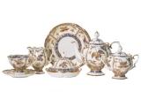 Lomonosov Porcelain Porcelain Tea Set Natasha Fantastic Butterflies 30 pcs 6/30