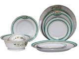 Lomonosov Porcelain Dinner Set North Aurora 24 pc