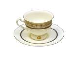 Aisedora Happy Fortune (2) 8.1 oz/240 ml Lomonosov Bone China Tea Set