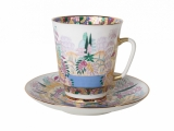 Bone China Cup and Saucer May Spring 5.6 fl.oz/165 ml 2 pc