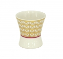 Porcelain Net Egg Holder Cup Moscow River
