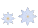 Lomonosov Porcelain Star Serving Platter Dish Set Azur
