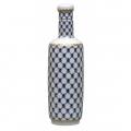 Lomonosov Porcelain Cobalt Net Decanter Сylinder 20 oz/600 ml