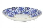 Lomonosov Imperial Porcelain Cake Dish Bindweed