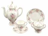 Imperial Porcelain Gallant Bone China Set 20pc