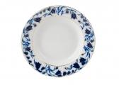 Lomonosov Porcelain Blue Bells 7-inch Dessert Plate