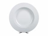 """Lomonosov Porcelain Dinner Soup Plate European-2 Omega Net 8.9""""/225 mm"""