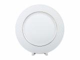 """Lomonosov Porcelain Dinner Plate European-2 Golden Omega Net 8.5""""/215 mm"""