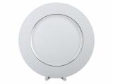 """Lomonosov Porcelain Dinner Plate European-2 Golden Omega Net 9.8""""/250 mm"""