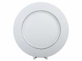 """Lomonosov Porcelain Dinner Plate European-2 Platinum Omega Net 10.6""""/270 mm"""