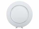 """Lomonosov Porcelain Dinner Plate European-2 Platinum Omega Net 9.8""""/250 mm"""